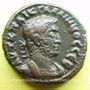 Münzen Gallien (253-268). Tétradrachme. Alexandrie an 12 (264-265). R/: Athéna debout à gauche