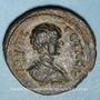 Münzen Géta, césar (198-209). Bronze. Dium, Décapole (Dion, Galilée) an 268 = 205/6