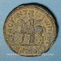 Münzen Marc Aurèle (161-180). Bronze. Hippos, Décapole (Antioch ad Hippum, Galilée)