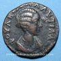 Münzen Plautille, épouse de Caracalla (+ 212). Bronze. Hermione (Péloponnèse)