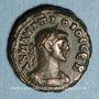 Münzen Probus (276-282). Tétradrachme. Alexandrie, an 3 (277-278). R/: Eiréné debout à gauche