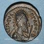 Münzen Septime Sévère (193-211) et Abgar VIII (179-214). Bronze. Edesse (Mésopotamie)