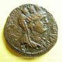 Münzen Trajan (98-117). Bronze. 25 mm. Laodicée (Syrie), 114-115. R/: buste tourelé de Tyché