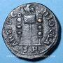 Münzen Volusien (251-253). Bronze. 23 mm. Antioche (Pisidie). R/: Vexillum entre deux enseignes