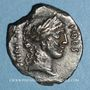 Münzen République romaine. A. Licinius Nerva (vers 47 av. J-C). Denier