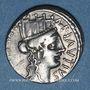 Münzen République romaine. A. Plautius (vers 55 av. J-C). Denier