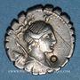 Münzen République romaine. A. Postumius A. f. S. n. Albinus (vers 81 av. J-C). Denier