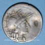 Münzen République romaine. Aurelius Rufus (vers 144 av. J-C). Denier