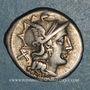 Münzen République romaine. C. Juventius Thalna (vers 154 av. J-C). Denier