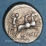 Münzen République romaine. C. Maianius (vers 153 av. J-C). Denier
