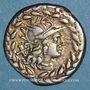 Münzen République romaine. Cn. Gellius (vers 138 av. J-C). Denier