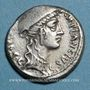 Münzen République romaine. Cn. Plantius (vers 55 av. J-C). Denier