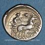 Münzen République romaine. Furius Purpurio (vers 169-158 av. J-C). Denier