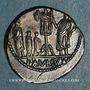 Münzen République romaine. L. Aemilius Lépidus Paullus (vers 62 av. J-C). Denier