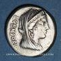 Münzen République romaine. L. Censorinus, P. Crépusius et C. Limetanus (vers 82 av. J-C). Denier