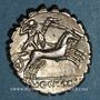 Münzen République romaine. L. Cosconius M. f. (vers 118 av. J-C). Denier dentelé