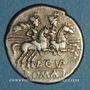Münzen République romaine. L. Cupiennius (vers 147 av. J-C). Denier