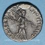 Münzen République romaine. L. Hostilius Saserna (vers 48 av. J-C). Denier