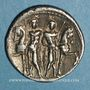 Münzen République romaine. L. Memmius (vers 109 av. J-C). Denier