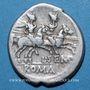 Münzen République romaine. L. Sempronius Pitio (vers 148 av. J-C). Denier