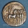 Münzen République romaine. M. Acilius M. f. (vers 130 av. J-C). Denier