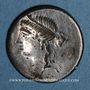 Münzen République romaine. M. Aemilius Lepidus (vers 61 av. J-C). Denier incus