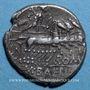 Münzen République romaine. M. Baebius Q. f. Tampilus (vers 137 av. J-C). Denier