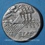 Münzen République romaine. M. Fannius C. f. (vers 123 av. J-C). Denier