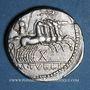 Münzen République romaine. M. Tullius (vers 120 av. J-C). Denier