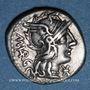 Münzen République romaine. M. Vargunteius (vers 130 av. J-C). Denier