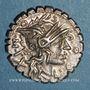 Münzen République romaine. Magistrats de Narbonne (vers 118 av. J-C). Denier dentelé
