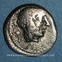 Münzen République romaine. Marcus Porcius Cato (vers 89 av. J-C). Quinaire