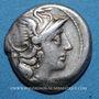 Münzen République romaine. Monnayage anonyme (157-155 av. J-C). Denier