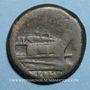 Münzen République romaine. Monnayage anonyme. 211-206 av. J-C. As. Rome