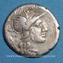 Münzen République romaine. Monnayage anonyme (vers 143 av. J-C). Denier