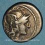Münzen République romaine. Monnayage anonyme (vers 157-155 av. J-C). Denier