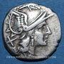 Münzen République romaine. Monnayage anonyme (vers 179-169 av. J-C). Denier