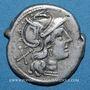 Münzen République romaine. Monnayage anonyme (vers 189-179 av. J-C). Denier