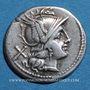 Münzen République romaine. Monnayage anonyme (vers 194-189 av. J-C). Denier