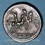 Münzen République romaine. Monnayage anonyme (vers 208 av. J-C). Quinaire