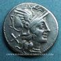 Münzen République romaine. Monnayage anonyme (vers157-156 av. J-C). Denier