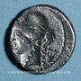Münzen République romaine. P. Clodius M. f. Turrinus (vers 42 av. J-C). Denier incus