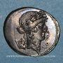 Münzen République romaine. P. Clodius M. f. Turrinus (vers 42 av. J-C). Denier