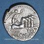 Münzen République romaine. P. Maenius Antiaticus (vers 132 av. J-C). Denier