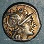 Münzen République romaine. Pinarius Natta (vers 155 av. J-C). Denier