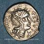 Münzen République romaine. Q. Fabius Labeo (vers 124 av. J-C). Denier