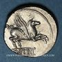 Münzen République romaine. Q. Titius (vers 90 av. J-C). Denier