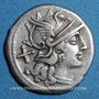 Münzen République romaine. Spurius Afranius (vers 150 av. J-C). Denier