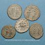 Münzen Lot. Cinq antoniniens