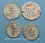 Münzen Lot. Quatre antoniniens
